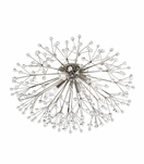Dandelion Flush Mount | Polished Nickel