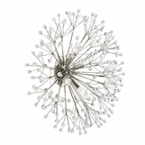 Dandelion Wall Sconce | Polished Nickel