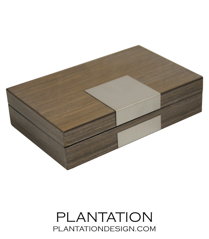 Denver Jewelry Box Grey Plantation