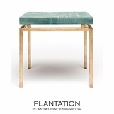"Depp ""Shagreen"" Gold Table 