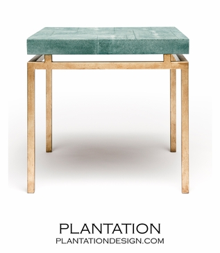 """Depp """"Shagreen"""" Gold Table 