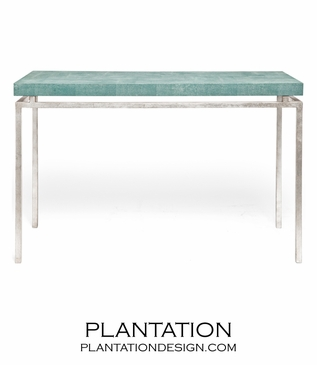 "Depp ""Shagreen"" Silver Consoles 