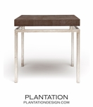 "Depp ""Shagreen"" Silver Table 