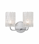 Dina 2-Light Sconce | Polished Chrome