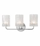 Dina 3-Light Vanity Fixture | Polished Chrome