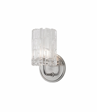 Dina Single Sconce | Satin Nickel