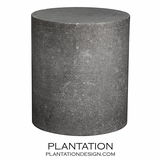 Dodoni Marble Stool | Black