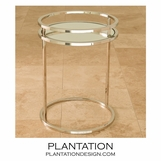 Dorset Side Table | Nickel