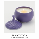 Driblet Lidded Candle | Purple