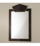 Ecuador Wood & Brass Mirror