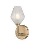 Elaine Single Sconce | Antique Brass