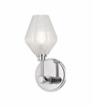 Elaine Single Sconce | Polished Chrome