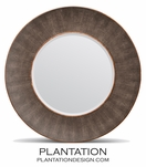 "Emery Concave ""Shagreen"" Mirror 