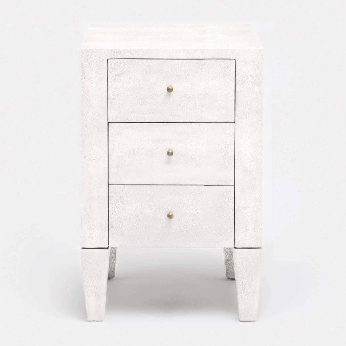 Emmett Narrow Side Table | White