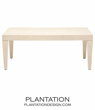 "Emmett ""Shagreen"" Coffee Table 