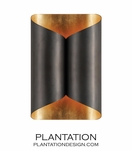 Encase Metal Sconce | Bronze