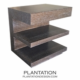 Evan 1-Drawer Side Table, Stained