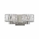 Evelyn 2-Light Sconce | Satin Nickel