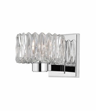 Evelyn Single Sconce | Polished Chrome