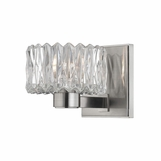 Evelyn Single Sconce | Satin Nickel