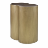 Figaro Nesting Side Table Set | Aged Brass
