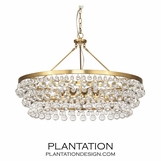 Flair Grand Chandelier | Antique Brass