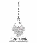Flair Mini Pendant | Polished Nickel