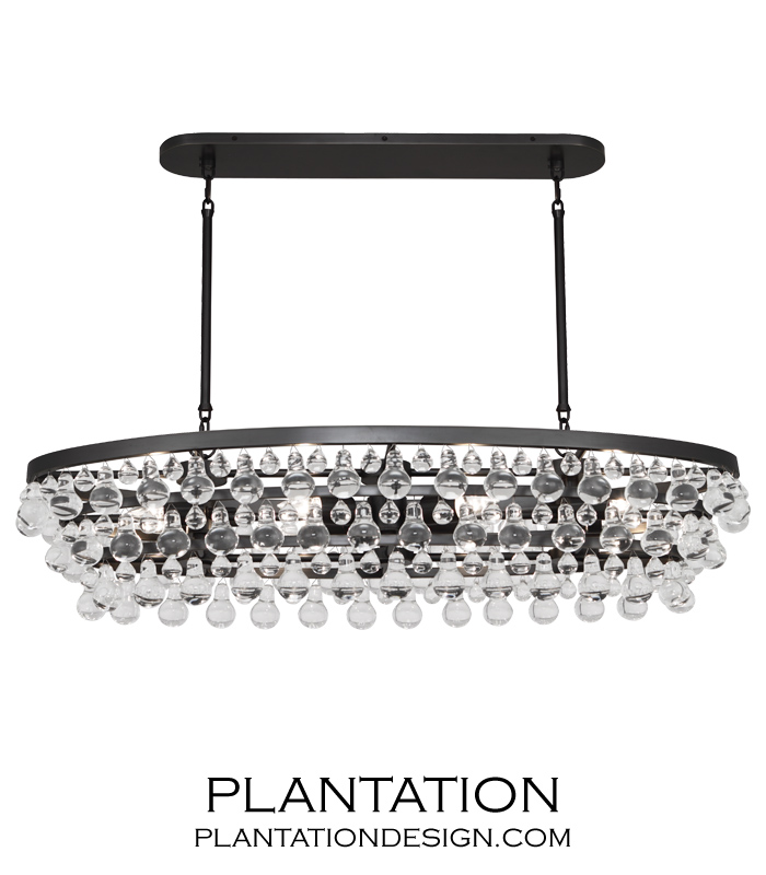 chandelier and chain isabelina product crystal oval