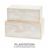 Foster Shell Boxes Set | Natural MOP