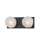 Gabbro 2-Light Bath Bar | Bronze
