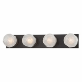 Gabbro 4-Light Bath Bar | Bronze