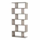 Garfield Oak Bookshelf | Light Grey