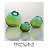 Giselle Ball Vases | Blue-Green