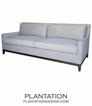 Grayson Sofa, Wood Base