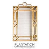 Helen Iron Mirror | Gold