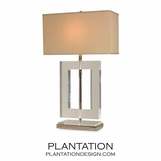 Horten Lucite Table Lamp
