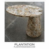 Hover Stone Side Table | Agate