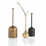 Howard Metal Vases Trio