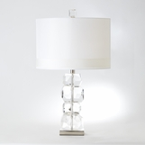 Kali Crystal Blocks Lamp | Short