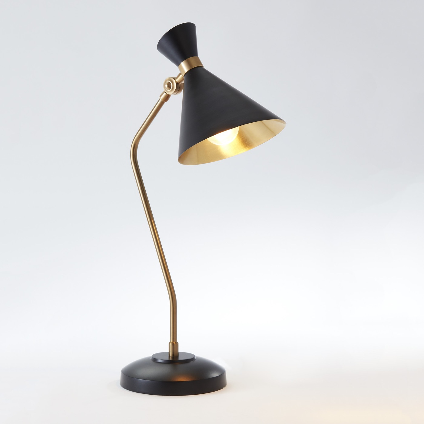 Kinsey Bronze U0026 Brass Desk Lamp