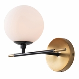 Kristen Left-Facing Sconce | Brass