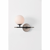 Kristen Left-Facing Sconce | Silver