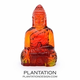 Kwan Glass Buddha | Red