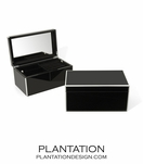 Lacquer Jewelry Box | Black