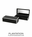Lacquer Trinket Box | Black