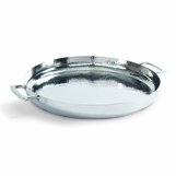 Lakshmi Round Tray | Nickel
