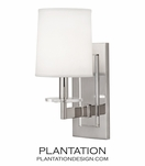 Landry Sconce | Polished Nickel