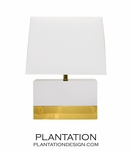 Lars Short Lamp | White