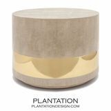 "Lavin ""Shagreen"" Coffee Table 