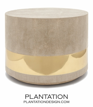 """Lavin """"Shagreen"""" Coffee Table 